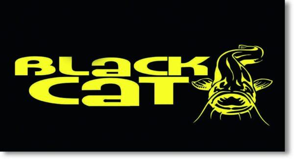 Autocollant 21cm Black Cat