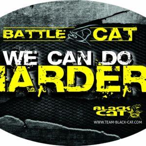 Autocollant Battle Cat 12cm