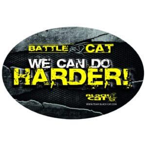 Autocollant Battle Cat 12cm Black Cat