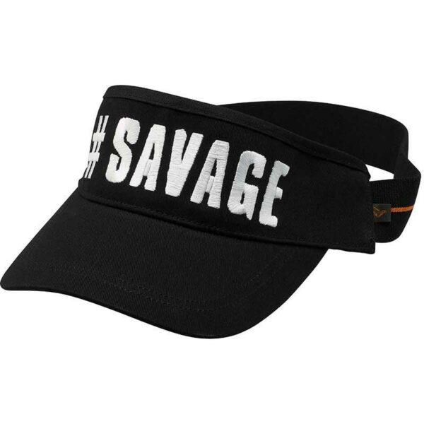 Casquette Visor One Size Black Savage Gear