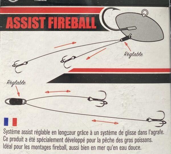 Assist Fireball x2 Powerline