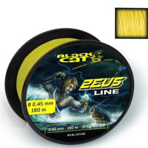 Tresse Zeus Line Jaune 4 Brins Black Cat