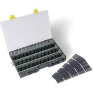 Boite Tackle Keeper S48 Plat Black Cat