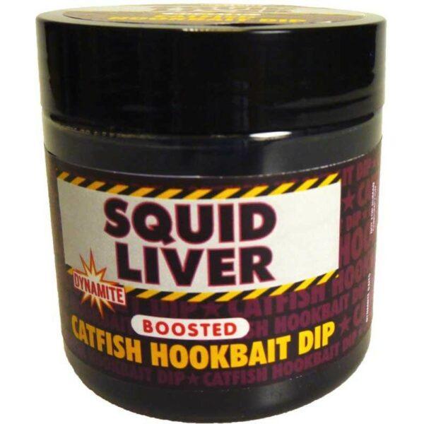 Dip Catfish Squid Liver Dynamite Baits