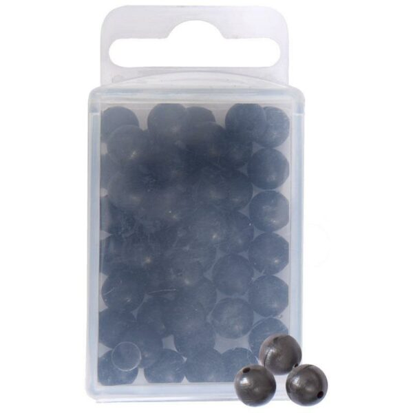 Perle Silure Hard Bead 50pcs Ø8mm Black Cat