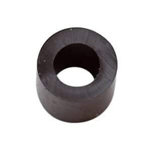 Rubber Stop Ø7x3mm 10pcs Black Cat