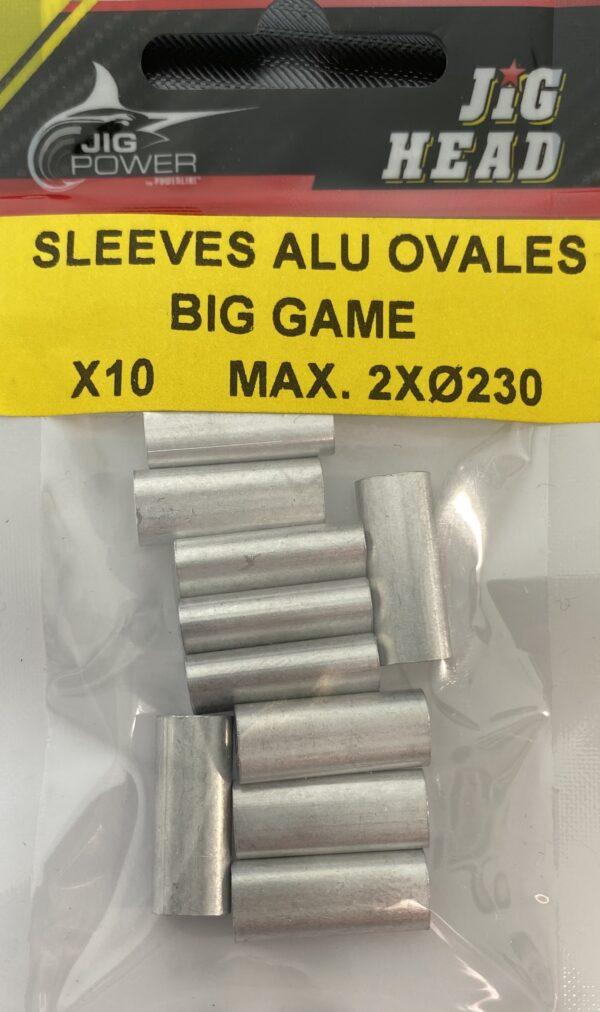 Sleeve Alu Ovale Big Game Powerline