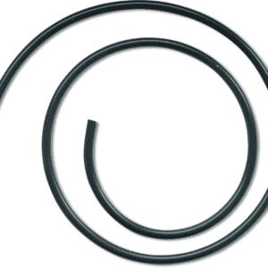 Silicone Tube Noir Ø5/2mm 1m Black Cat