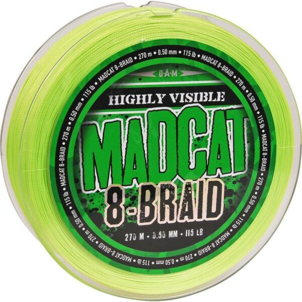 Tresse 8-Braid 270m Madcat