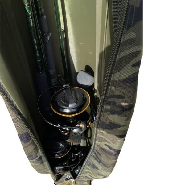 Fourreau Double Camou Rod case 150cm Spro