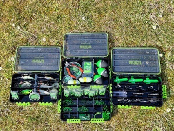 Boite De Rangement Tackle Box 4C 35x22x8cm Madcat