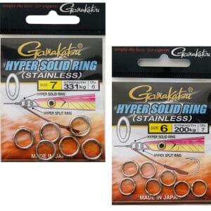 Anneaux Pleins Hyper Solid Ring Gamakatsu