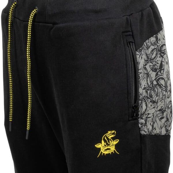 Pantalon Jogger Noir Black Cat