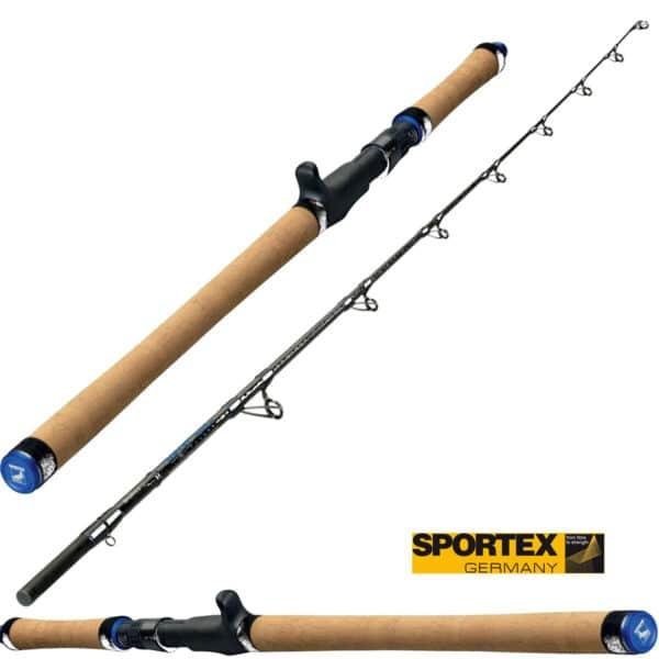 Canne Casting Top Cat Vertical 1,98m 130-300gr Sportex