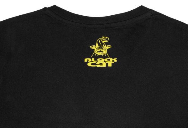 T-Shirt Established Collection T-Shirt Noir Black Cat