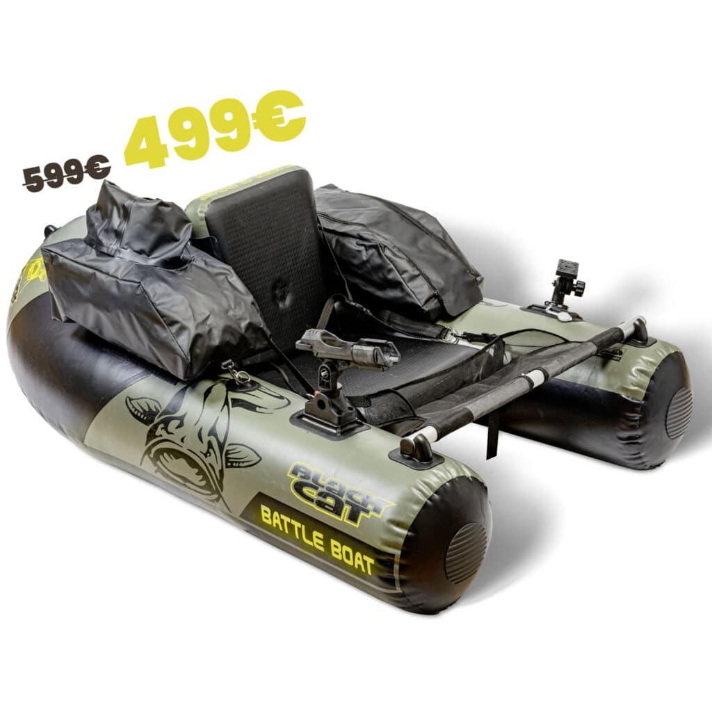 Float Tube Battle Boat Black Cat promo 499€