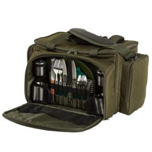 Sac Isotherme+Couverts 2pers. Defender Session Cooler Food Bag JRC