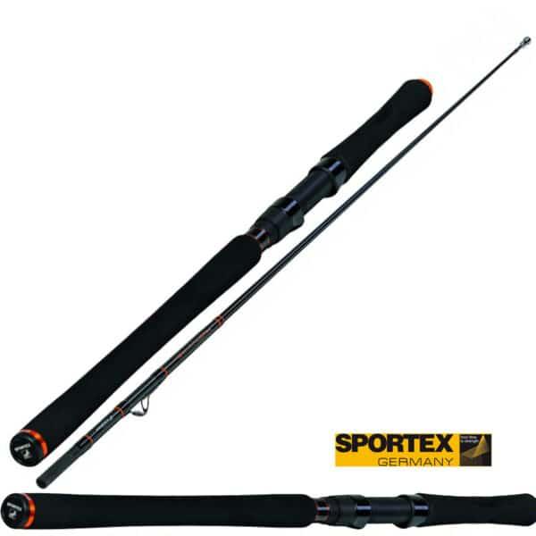 Canne Catfire Vertical Heavy Inliner 1,85m 150-450gr Sportex