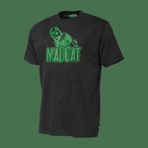 T-Shirt Clonk Teaser Dark Grey Melange Madcat