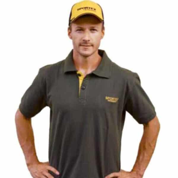 Sportex Classic Polo Shirt (Olive) size XL