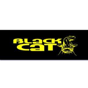 Autocollant 119x45cm Black Cat