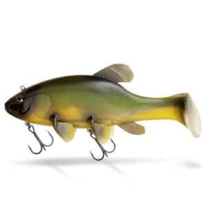 Leurre Swimbait Souple Freak Of Nature Green Tench 23cm 270gr Quantum