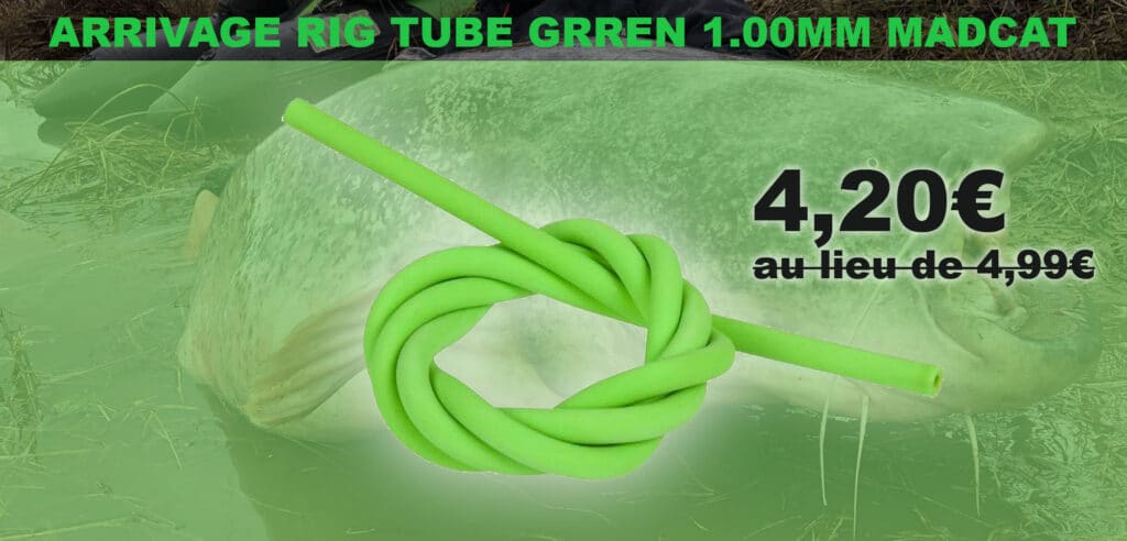 arrivage rig tube madcat promo